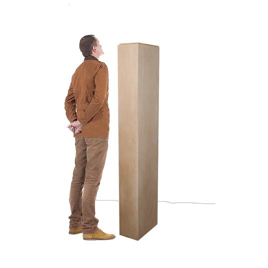 colonne poncée homme